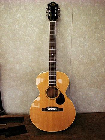 オリジナルギター製作01